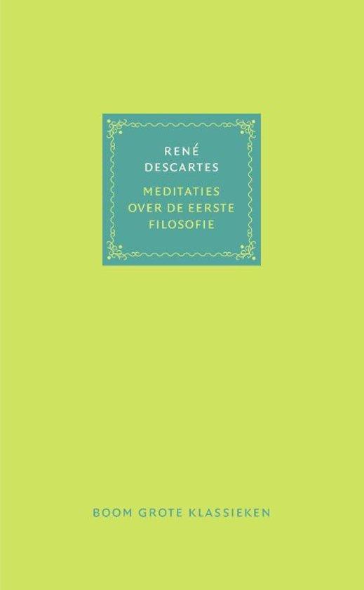 Meditaties over de eerste filosofie