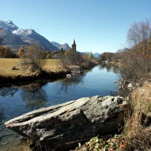 Sils Maria, Switzerland.